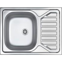 Sinks OKIO 650 V 0,6mm leštěný