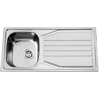 Sinks OKIO 1000 XL V 0,6mm leštěný