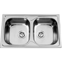 Sinks Sinks OKIO 800 DUO V 0,6mm leštěný