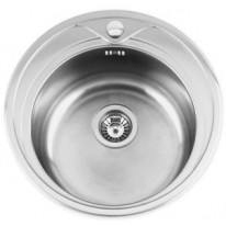 Sinks REDONDO 510 V 0,6mm matný