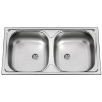 Sinks Sinks OKIO 780 DUO M 0,5mm matný