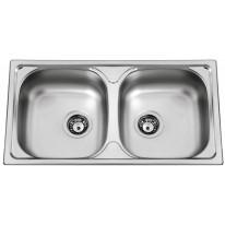 Sinks Sinks OKIO 780 DUO V 0,5mm matný