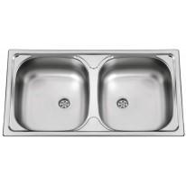 Sinks Sinks OKIO 780 DUO V 0,6mm texturovaný