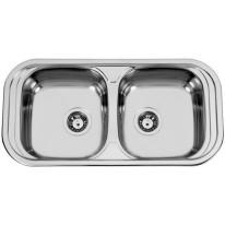 Sinks SEVILLA 860 DUO V 0,6mm leštěný