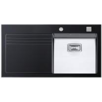 Sinks Sinks GLASS 1000 černý pravý 1,2mm