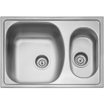 Sinks TWIN 620.1 V 0,6mm matný