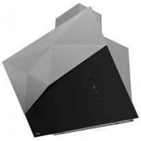 Kluge KOS9070BLG Edge black odsavač komínový, 90 cm