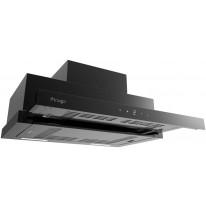 Kluge KOT9010BLG Slide touch black 90 odsavač výsuvný, 90 cm