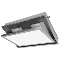 Kluge KOV9010IX UP light 90 odsavač stropní, 90 cm