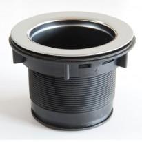 EcoMaster Hrdlo drtiče prodloužené komplet (83mm) k drtičům odpadu EcoMaster