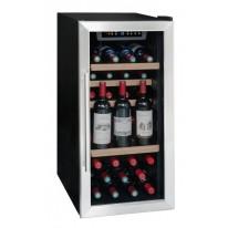 La Someliere LS38A volněstojící vinotéka jednozónová, 35 lahví, černá/nerez
