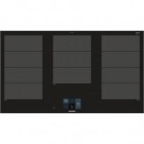 Siemens EX975KXW1E indukční senzorová deska, fazetový design, 90 cm, HomeConnect
