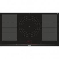 Siemens EX975LVV1E indukční varná deska, flexindukce, černá, 90 cm, HomeConnect