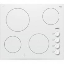 Bosch PKE652CA1E Elektrická varná deska s ovládacími knoflíky, bílá