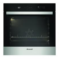 Trouba Brandt BXP5556X Multifunkční pyrolytická trouba, objem 73 l, černá/nerez, 4 roky záruka
