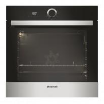 Brandt BXP5531X Multifunkční pyrolytická trouba, objem 68 l, černá/nerez, 4 roky záruka