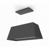 Faber CHLOE XL ISOLA CI F110  - rustikální ostrůvkový odsavač, černá mat, šířka 110cm