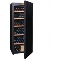 Avintage DVA305PA+  multi-teplotní jednozónová vinotéka, 294 lahví, A+, černá