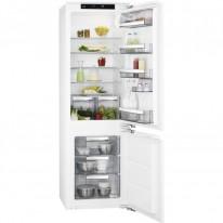 AEG Mastery SCE81821LC vestavná kombinovaná chladnička, pevné panty, A++