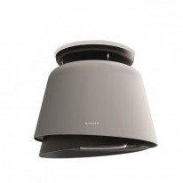 Faber BELLE PLUS GR/DG MATT  - lustrový odsavač, šedá mat / tmavě šedá mat, šířka 70cm