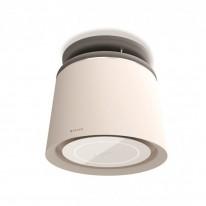 Faber CELINE PLUS WW/CG MATT  - lustrový odsavač, bílá mat / cementově šedá mat, šířka 60cm