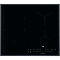 AEG Mastery IKE64471FB indukční varná deska se zkosenou hranou, Hob2Hood, černá, šířka 59 cm