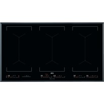 AEG Mastery IKE96654FB indukční varná deska se zkosenou hranou, Hob2Hood, černá, šířka 91 cm