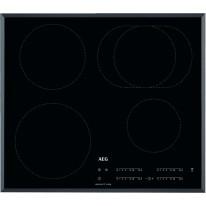 AEG Mastery IKB64413FB indukční varná deska se zkosenou hranou, Hob2Hood, černá, šířka 59 cm
