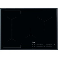 AEG Mastery IKE74441FB indukční varná deska se zkosenou hranou, Hob2Hood, černá, šířka 71 cm