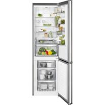AEG Mastery RCB83724MX volně stojící kombinovaná chladnička, NoFrost, CustomFlex, nerez, A++