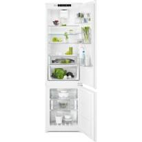 Electrolux ENN3074EFW vestavná kombinovaná chladnička, CustomFlex, NoFrost, A++