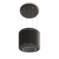 Faber ODETTE BK MATT  - lustrový odsavač, černá mat, šířka 50cm