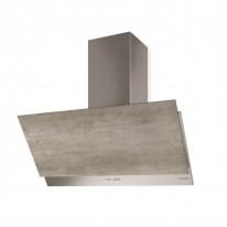 Faber GREXIA GRES LG/X A90  - komínový odsavač, nerez / světle šedá kamenina, šířka 90cm