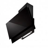 Faber BLACK TIE BRS PLUS BK A80  - komínový odsavač, černá / černé sklo, šířka 80cm