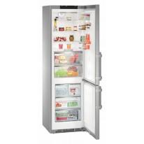 Liebherr CBNPes 4878, kombinovaná chladnička, nerez, NoFrost, A+++ -20%