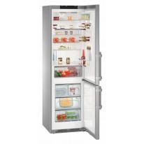 Liebherr CNPes 4868 volně stojící kombinovaná chladnička, nerez, NoFrost, A+++ -20%