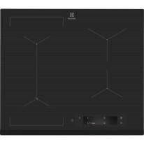 Electrolux EIS6448 indukční varná deska SenseFry, Hob2Hood, tmavě šedá, 60 cm