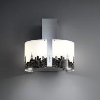 Falmec NEW YORK/LED MIRABILIA Wall - nástěnný odsavač, 67 cm, 800 m3
