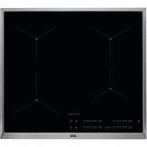 AEG Mastery IAE64413XB indukční varná deska SenseBoil, s rámečkem, Hob2Hood, černá, 60 cm