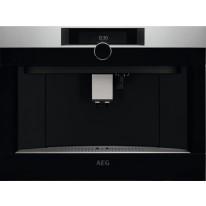 AEG Mastery KKK994500M plně automatický vestavný kávovar, otočný volič, design HORIZON