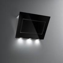 Falmec QUASAR DESIGN Wall - nástěnný odsavač, 90 cm, černé sklo/nerez, 800 m3