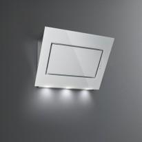 Falmec QUASAR DESIGN Wall - nástěnný odsavač, 90 cm, bílé sklo/nerez, 800 m3
