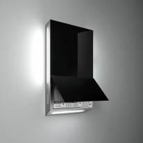 Falmec GHOST DESIGN Wall - nástěnný odsavač, 60 cm, černý, 600m 3/h