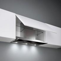 Falmec MOVE DESIGN Built-in - vestavný odsavač, 60 cm, černé sklo, 800 m3/h