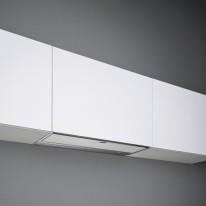 Falmec MOVE DESIGN Built-in - vestavný odsavač, 90 cm, bílé sklo, 800 m3/h