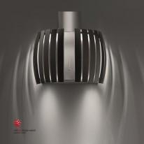 Falmec PRESTIGE DESIGN Wall - nástěnný odsavač, šířka 65 cm, černé sklo/nerez, 800 m3
