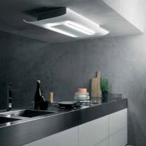 Falmec CIELO DESIGN Ceiling - stropní odsavač, šířka 120 cm, bílé sklo, 600 m3/h