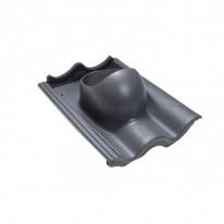 Faber Střešní průchodka pro tašku beton šedá RAL 7015