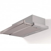 Faber Flexa HIP AM/X A50  - výsuvný odsavač, šedá / lišta nerez, šířka 50cm