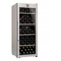Climadiff CLS110MT Dvouzónová volně stojící vinotéka, kapacita 110 lahví, barva antracitově šedá